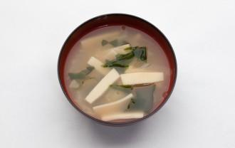 凍み豆腐のみそ汁