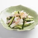 長芋とハムのサラダ
