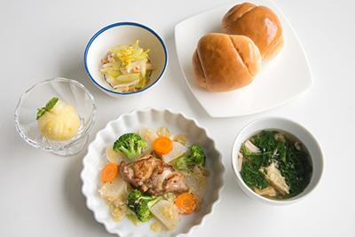 福味鶏のソテー温野菜セット